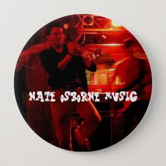 Nate Osborne Music 4 Inch Round Button