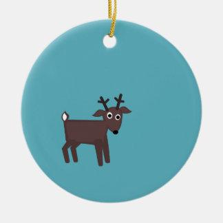 nate, tiny reindeer ornament
