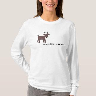nate, tiny reindeer T-Shirt