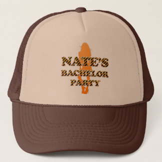 Nate's Bachelor Party Trucker Hat