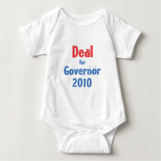 Nathan Deal for Governor 2010 Star Design Baby Bodysuit