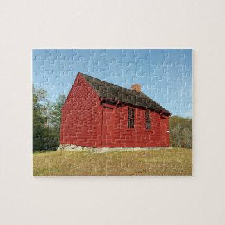 Nathan Hale Schoolhouse (East Haddam) Jigsaw Puzzle