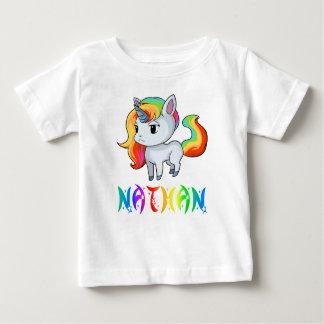 Nathan Unicorn Baby T-Shirt