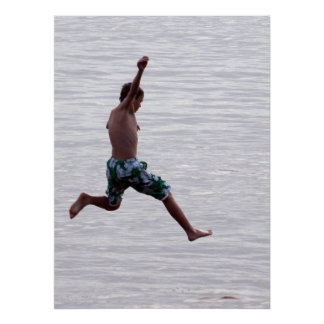 Nathanael Jumps into the Amazon Poster