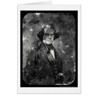 Nathanial Hawthorne Daguerreotype 1850 Card