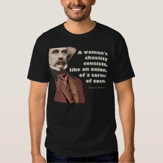 Nathaniel Hawthorne Chasity Shirt