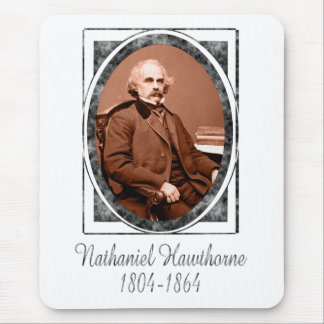 Nathaniel Hawthorne Mouse Pad