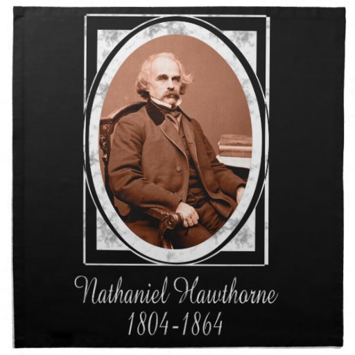 Nathaniel Hawthorne Printed Napkins