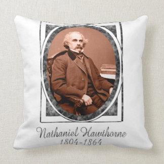 Nathaniel Hawthorne Throw Pillow