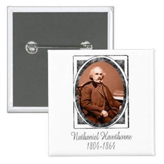 Nathaniel Hawthorne Pinback Buttons