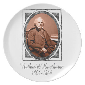 Nathaniel Hawthorne Party Plates