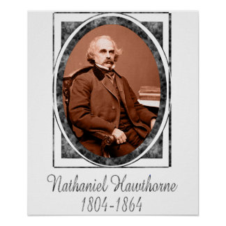 Nathaniel Hawthorne Poster
