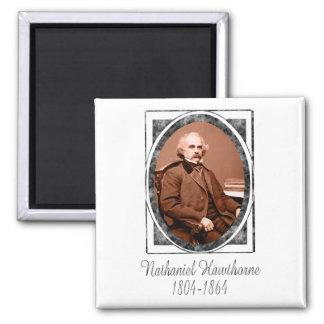 Nathaniel Hawthorne Square Magnet