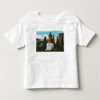 Nathaniel Hawthorne Statue View Shirts
