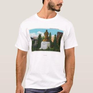 Nathaniel Hawthorne Statue View T-Shirt