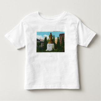 Nathaniel Hawthorne Statue View Toddler T-shirt