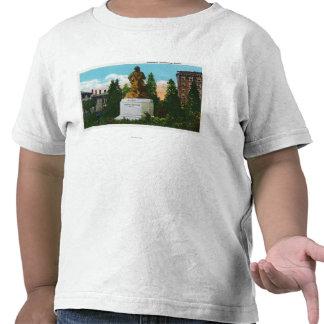 Nathaniel Hawthorne Statue View T-shirts