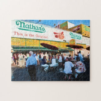 Nathan's Coney Island Photo Puzzle