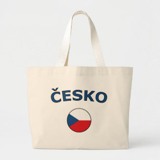 nation-circle-czech large tote bag