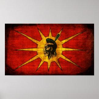Nation de Mohawk Poster