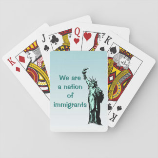 Nation of Immigrants Playing Cards
