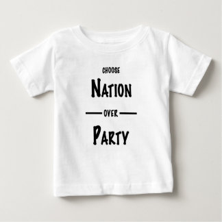 Nation over Party gift collection Baby T-Shirt