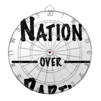 Nation over Party gift collection Dartboard