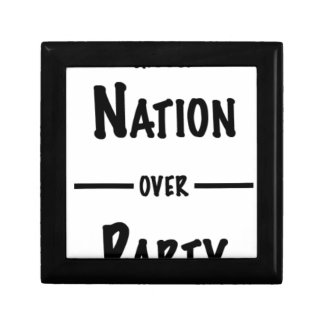 Nation over Party gift collection Gift Box