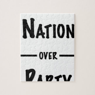 Nation over Party gift collection Jigsaw Puzzle