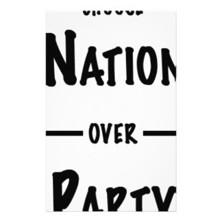 Nation over Party gift collection Stationery