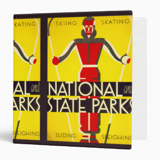 National and state parks, skiing - Dorothy Waugh Binder