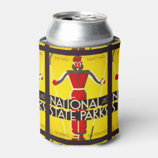 National and state parks, skiing - Dorothy Waugh Can Cooler
