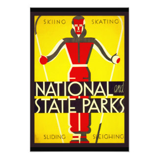 National and state parks, skiing - Dorothy Waugh Photograph