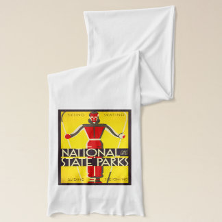 National and state parks, skiing - Dorothy Waugh Scarf