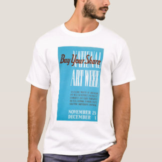 National Art Week 1938 WPA T-Shirt