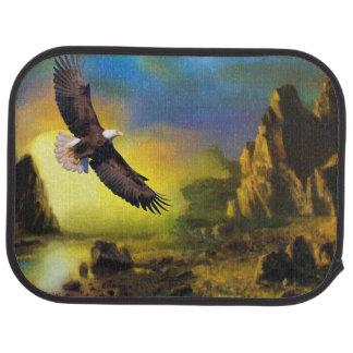 National Bird of America Bald Eagle Soaring Car Floor Carpet
