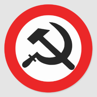 National Bolshevik Party, Colombia Political Classic Round Sticker