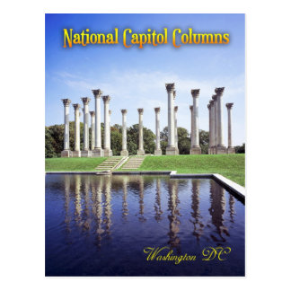 National Capitol Columns, Washington DC Postcard