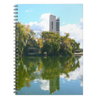 National Carillon - Canberra Spiral Note Book