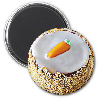 National Carrot Cake Day February 3rd Holiday Magnet