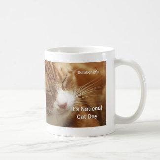 National Cat Day Mug October 29