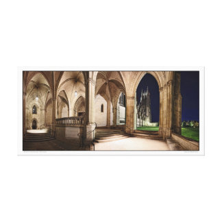 National Cathedral- Panoramic Canvas Print
