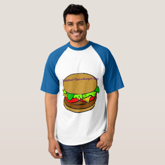 National Cheeseburger Day Raglan Shirt