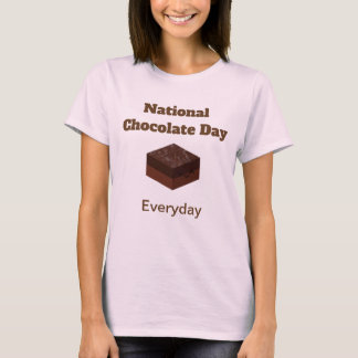National Chocolate Day Everyday Shirt