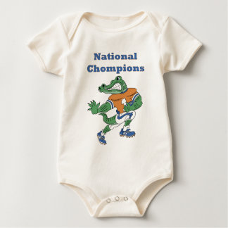 National Chompions Alligator Baby Baby Bodysuit
