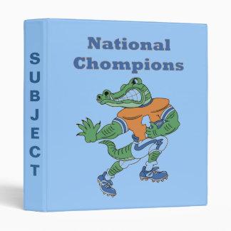 National Chompions Alligator Binder