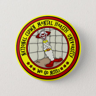 National Clown Mental Health University 2 Inch Round Button