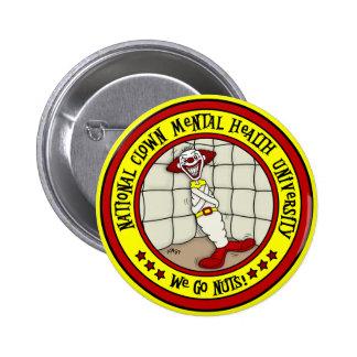 National Clown Mental Health University 2 Inch Round Button