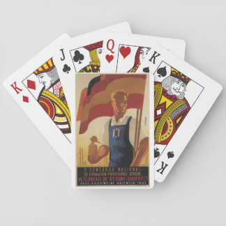 National competition for_Propaganda Poster Poker Deck