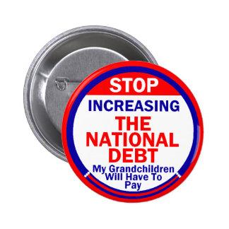 National Debt Button